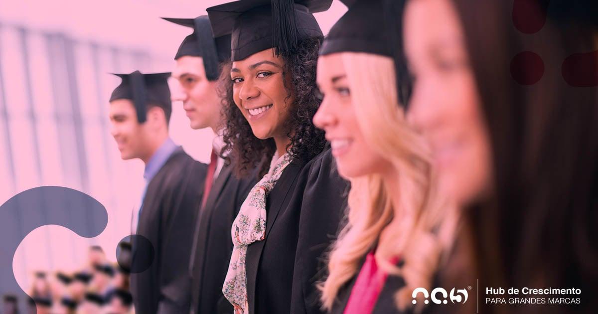 Aborde as conquistas da comunidade alumni