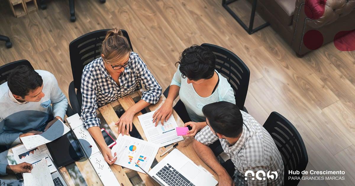 O papel das equipes de Marketing e Vendas