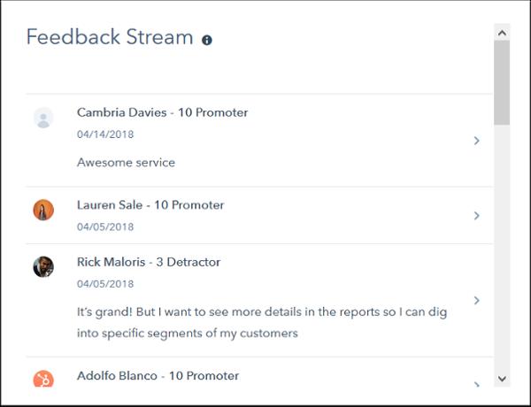Feedback Stream