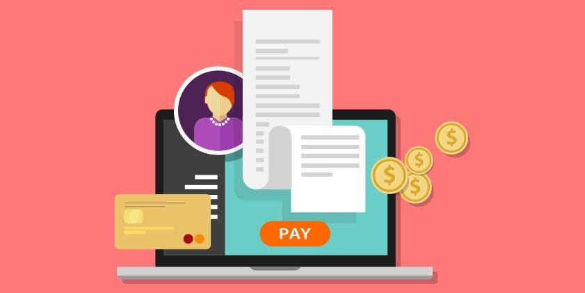 Informações de pagamento