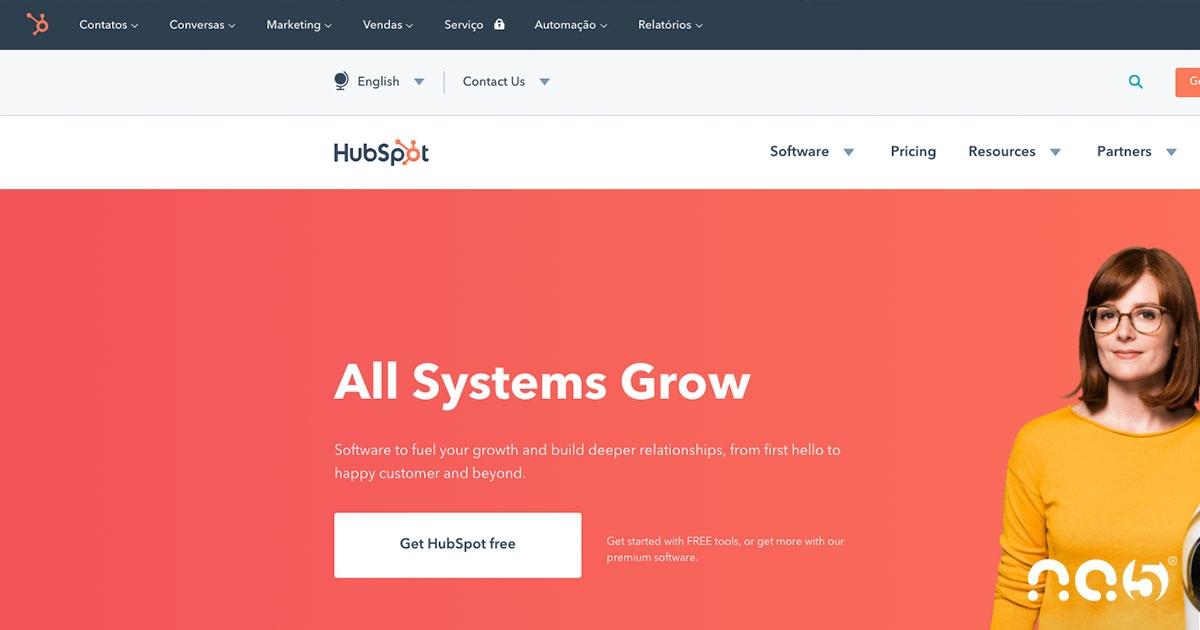 Conheça o novo menu de navegação da HubSpot e saiba como usá-lo