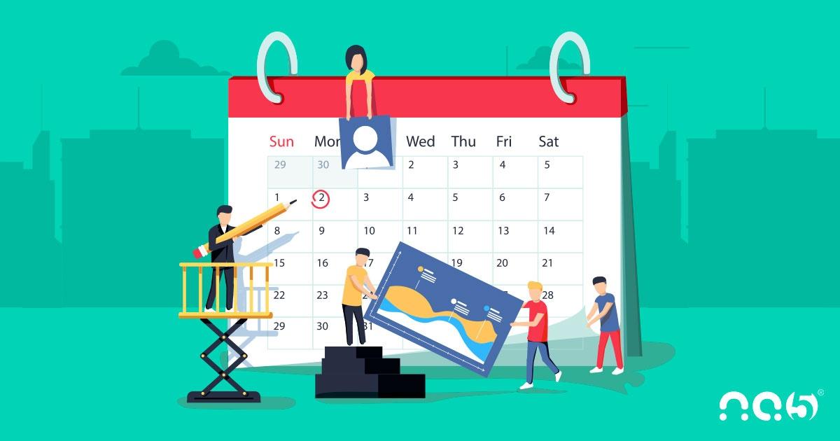 Gerencie a sua agenda de conteúdo com HubSpot Calendar
